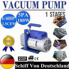 1/4HP 2.5CFM 220V einstufige Dreh Refrigeration Vakuumpumpe schnelle Lieferung
