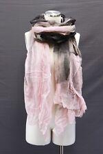 NWT$1745 Brunello Cucinelli 100% Cashmere  Floral Tie-Dye Lightweight Scarf A181