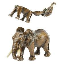 Treasured Trinkets Large Diamante Elephant Trinket Box
