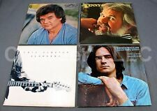 Lot of 4 Vintage Record: Kenny Rogers James Taylor Eric Clapton Conway Twitty LP