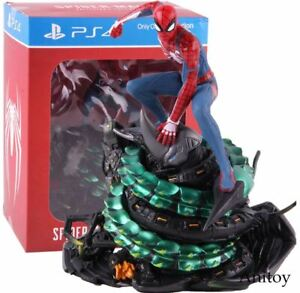 Spider-man PS4 Spiderman Statue Figure Action