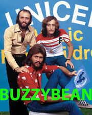 BEE GEES UNICEF 8x10 Photo RARE From Original Transparency