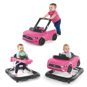 3 Ways To Play Walker Ford Mustang Pink 6 Months Plus Different Height Positions