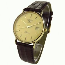 Longines 9kt Solid Gold Men's watch with warranty to 31/3/2018 - Simply stunning