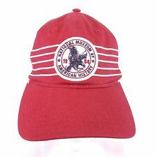 New National Museum Smithsonian Cap Hat stretch flex fit red white 1964 est y9
