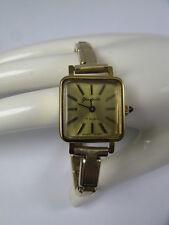 Vintage Damen Armbanduhr / Uhr VEB Uhrenwerk Glashütte 70s Handaufzug