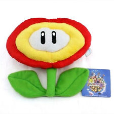 Super Mario Brothers Fire Flower Plant Soft Stuffed Plush Toy Doll 8Inch