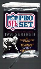 1991 PRO SET Ser2 FOOTBALL PACK