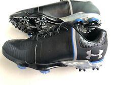 UA Under Armour Spieth One Golf Shoes Men's Size 9 Black