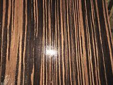 "Macassar Ebony composite wood veneer 48"" x 96"" on paper backer 1/40"" EFW"