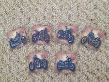 40 Harley Davidson Motorbike Mens Table Confetti birthday/Wedding decorations