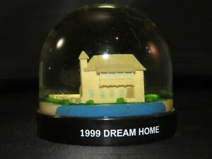 Rare HGTV Rosemary Beach 1999 Dream House snowdome