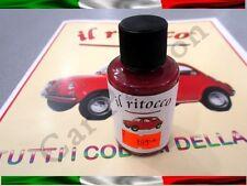 VERNICE RITOCCO SMALTO FIAT 500 CINQUECENTO D'EPOCA ROSSO OSSIDO COD 163 30ml