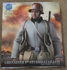 did action figure ww1 german lutz fedder 1/6 12'' boxed dragon cyber hot toy