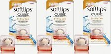 Lot of 3, Softlips CUBE Vanilla Bean Lip Balm 0.23 OZ (6.5g)