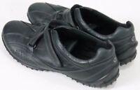 ECCO Women's $90 Comfort Shoes Strap Size EU 41 US 10-10.5 Black Leather