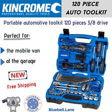 Kincrome 120 Piece 3/8 Inch Drive Metric Sockets Portable Automotive Tool Kit AU