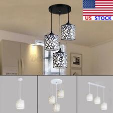 Home Modern Flower Petal Ceiling Light LED Pendant Lamp Dining Room Chandelier