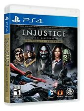 PLAYSTATION 4 PS4 GAME INJUSTICE GODS AMONG US ULTIMATE EDITION NEW SEALED