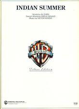 DUBIN HERBERT INDIAN SUMMER SHEET MUSIC DELUXE PIANO/VOCAL/GUITAR/CHORDS NEW!!