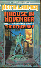 The House in November and The Other Sky-Keith Laumer-Tor Books 1st Print-1981