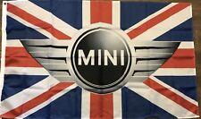 Mini Cooper Flag 3x5 Banner Car Garage Man Cave BMW British Automotive Auto