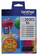Brother Innobella Lc2033pks Ink Cartridge - Cyan, Magenta, Yellow - Inkjet -