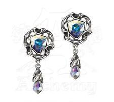 Empyrian Eye: Tears From Heaven Earrings - Alchemy Gothic Jewellery E350