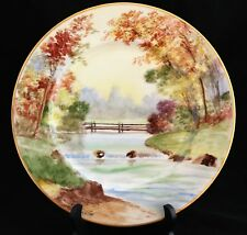 STOUFFER STUDIO HAND PAINTED SCENE PICKARD ARTIST N.R.Gifford CHARGER PLATE 3of6