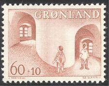 Greenland 1968 Child Welfare/Children/Legends/Animation/Stories/Tales 1v n43677