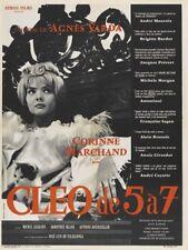 Cleo de 5 a 7 Agnes Varda French movie poster print