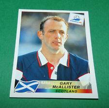 N°42 McALLISTER ECOSSE SCOTLAND PANINI FOOTBALL FRANCE 98 1998 COUPE MONDE WM
