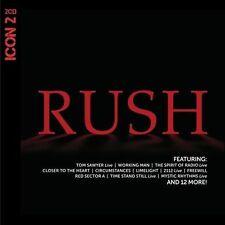 RUSH Icon 2 2CD BRAND NEW Compilation Studio & Live