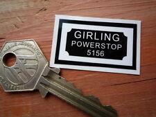 Girling powerstop 5156 style voiture frein servo autocollant 40mm restauration classique