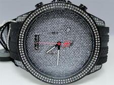 Mens Joe Rodeo Empire Jojo Jojino Rubber Band Diamond Watch JREM4 2.25 Ct