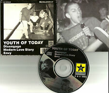 Shelter YOUTH OF TODAY w/ 3 UNELEASED TRX CD Single Better Than a Thousand 1995