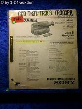 Sony Service Manual CCD TR31 / TR303 / TR303PK (#3549)