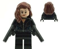 Lego Superheroes Super Hero Black Widow Minifig Made From Lego NEW