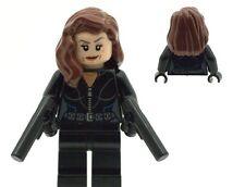 Lego Superheroes Super Hero Black Widow Minifig Made From Lego NEW