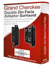 Jeep Grand Cherokee car stereo radio Facia Fascia adapter panel plate trim CD