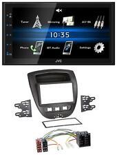 JVC 2DIN Bluetooth MP3 AUX USB Autoradio für Citroen C1 Toyota Aygo Peugeot 107