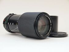 Canon FD 70-210mm F4 Zoom Lens with Caps and Hood. No U11776