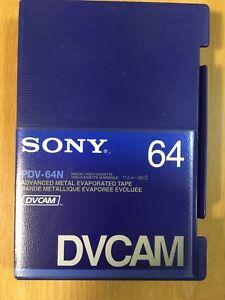 NEW DVCAM/HDV CASSETTE  Sony PDV-64N LARGE JAPAN