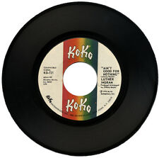 """LUTHER INGRAM  """"AIN'T GOOD FOR NOTHING c/w THESE ARE THE THINGS""""  70's  LISTEN!"""