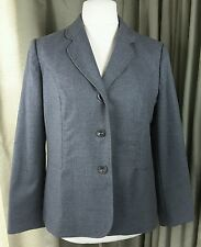 Grey Wool Work Office Business Jacket  by Eastex UK16 EU44 EXCELLENT CONDITION