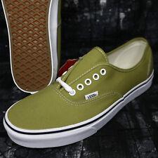 8f976d78c3 Vans Authentic Canvas Cress Green True White Men s Skate Shoes S8C149.121