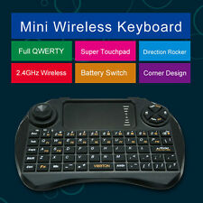 VIBOTON-X3 Wireless QWERTY Keyboard And Air Mouse Remote Control Touchpad DPI