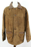Hide House Brown Leather Jacket Size Large