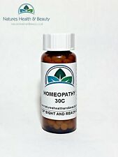 7g Homeopathic Remedy Horses/Pets/Small Animals 30C