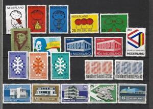 """LOT TIMBRES  NEUFS """"PAYS-BAS""""  année  complète 1969"""